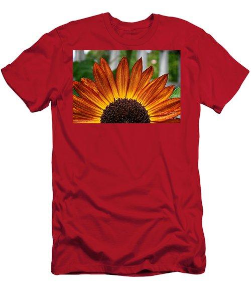 Sunrise Floral Men's T-Shirt (Athletic Fit)