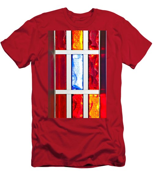 Surrounded By Color Men's T-Shirt (Athletic Fit)