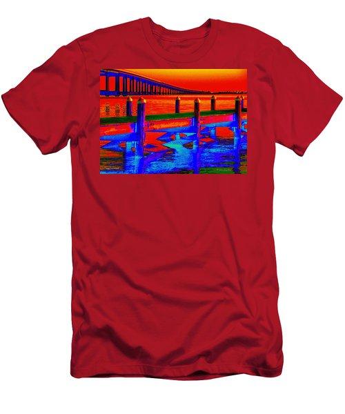 Tangerine Sound Men's T-Shirt (Athletic Fit)
