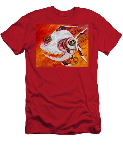 T.b. Chupacabra Fish Men's T-Shirt (Athletic Fit)