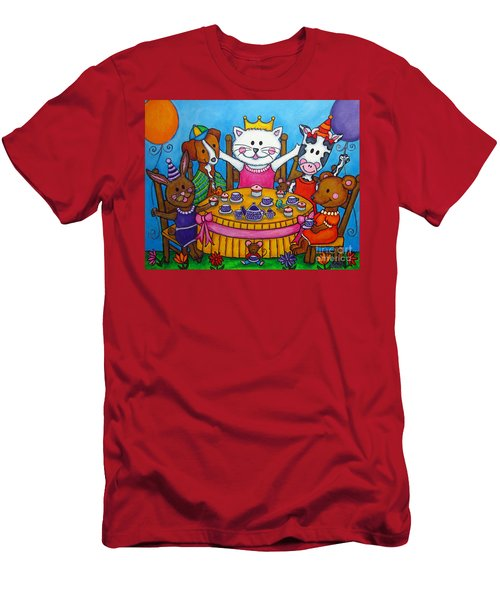 The Little Tea Party Men's T-Shirt (Athletic Fit)