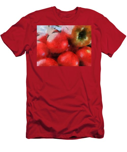 Tomatoes And Apple Men's T-Shirt (Athletic Fit)