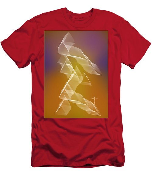Men's T-Shirt (Athletic Fit) featuring the digital art . by James Lanigan Thompson MFA