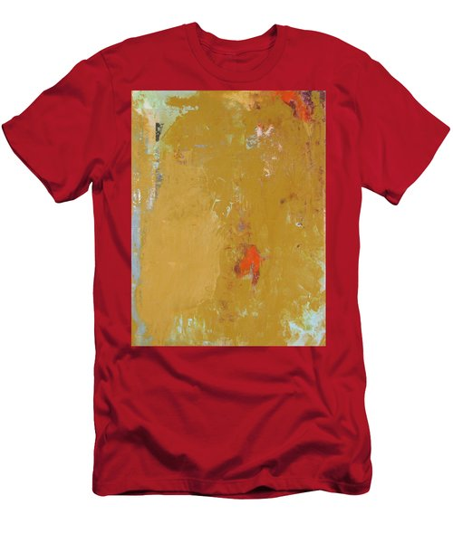 Untitled Abstract - Ochre Cinnabar Men's T-Shirt (Athletic Fit)