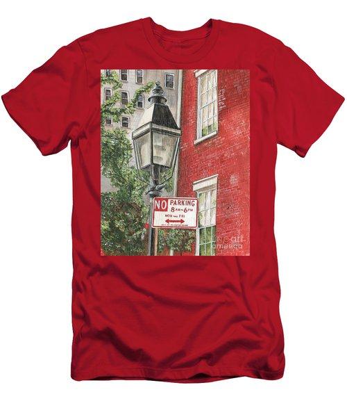 Village Lamplight Men's T-Shirt (Athletic Fit)