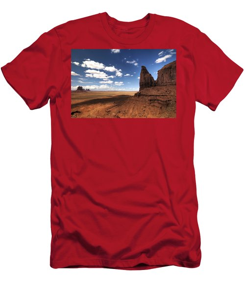 Visions Of Monument Valley  Men's T-Shirt (Athletic Fit)