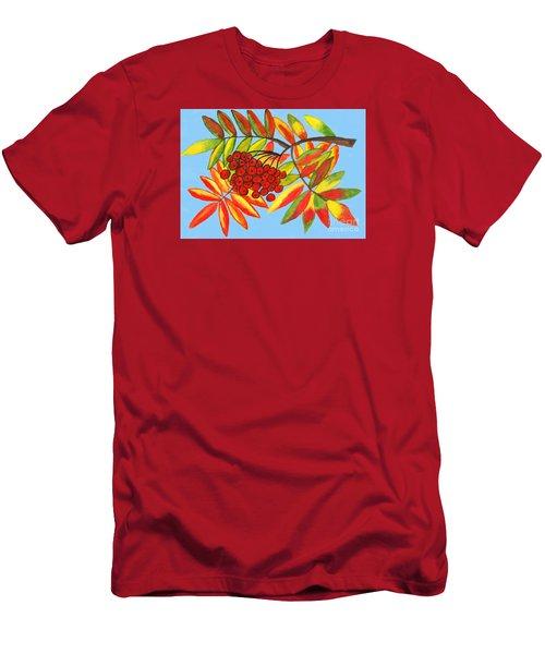 Ashberry, Painting Men's T-Shirt (Slim Fit) by Irina Afonskaya