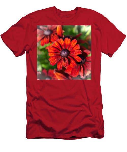 Autumn Flowers Men's T-Shirt (Athletic Fit)