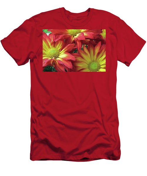 Men's T-Shirt (Slim Fit) featuring the photograph Beautiful Trio by Allen Beatty