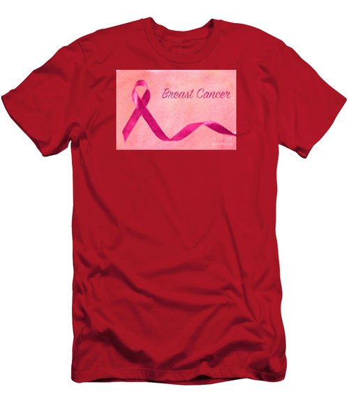 Breast Cancer Men's T-Shirt (Athletic Fit)