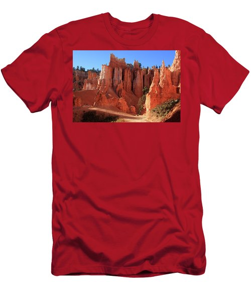 Men's T-Shirt (Athletic Fit) featuring the photograph Bryce Canyon National Park, Utah by Aidan Moran