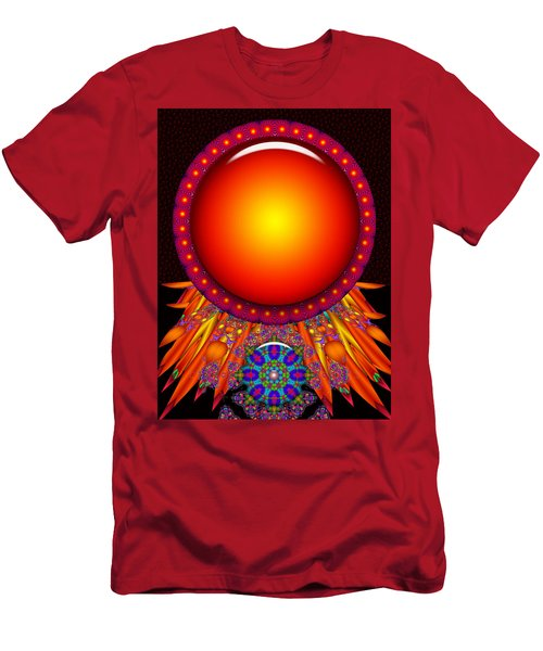 Men's T-Shirt (Slim Fit) featuring the digital art Children Of The Sun by Robert Orinski