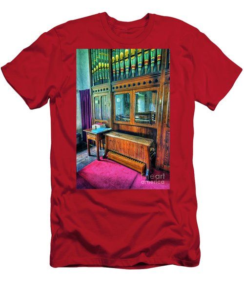 Church Organ Men's T-Shirt (Athletic Fit)