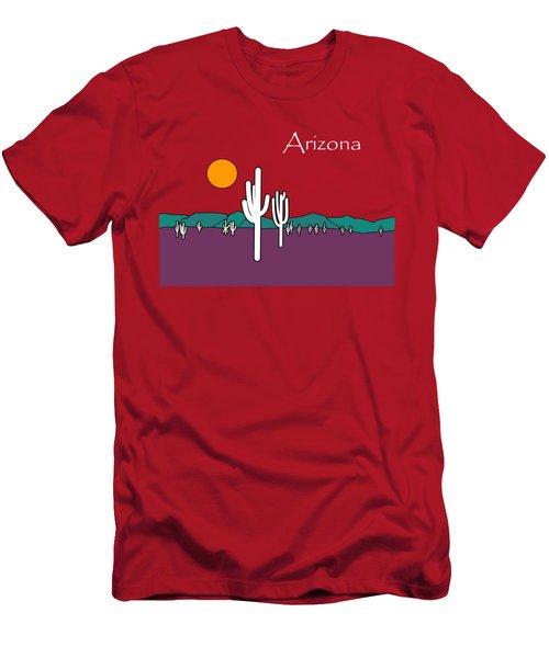 Desert Sunset Men's T-Shirt (Athletic Fit)