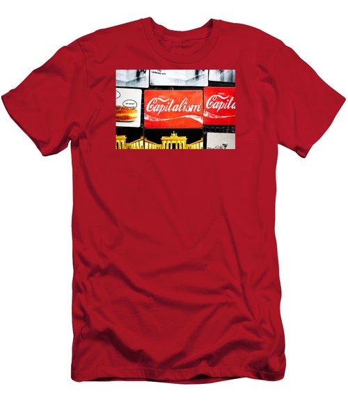 Fridge Magnets Men's T-Shirt (Athletic Fit)
