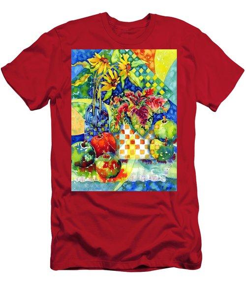 Fruit And Coleus Men's T-Shirt (Athletic Fit)
