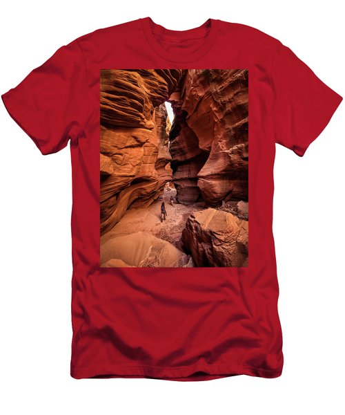 Happy Canyon Men's T-Shirt (Athletic Fit)