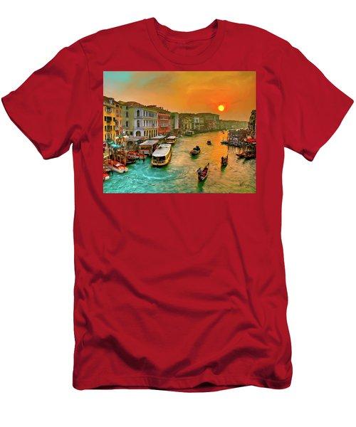 Imbarcando. Venezia Men's T-Shirt (Athletic Fit)