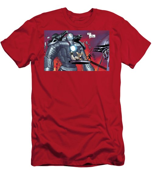 Iron Man Men's T-Shirt (Athletic Fit)