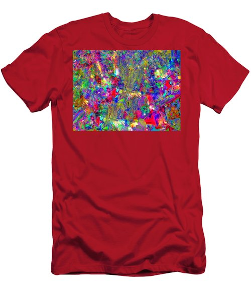 Men's T-Shirt (Athletic Fit) featuring the photograph Joy by EDi by Darlene