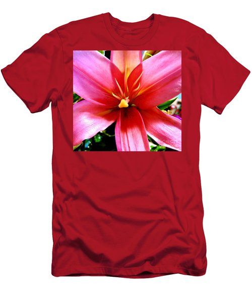 Lily Men's T-Shirt (Slim Fit) by Tim Townsend