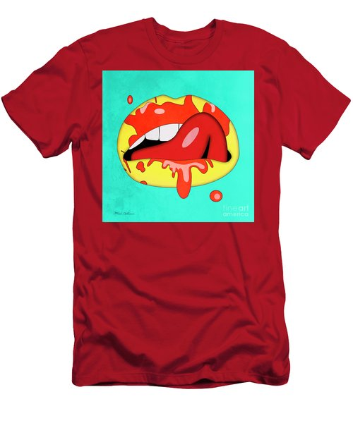 Lips Men's T-Shirt (Athletic Fit)