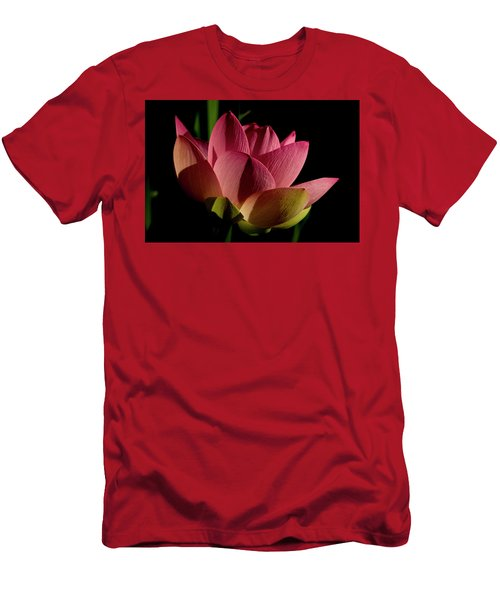 Men's T-Shirt (Athletic Fit) featuring the photograph Lotus Flower 2 by Buddy Scott