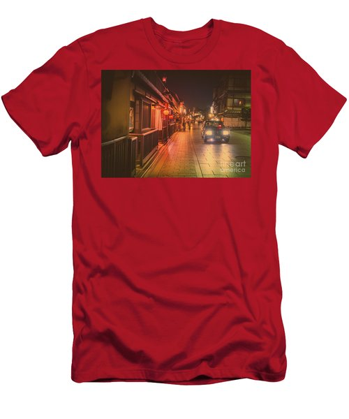 Old Kyoto, Gion Japan Men's T-Shirt (Athletic Fit)