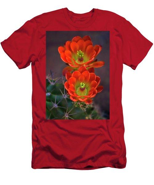 Men's T-Shirt (Athletic Fit) featuring the photograph Orange Ya Beautiful  by Saija Lehtonen