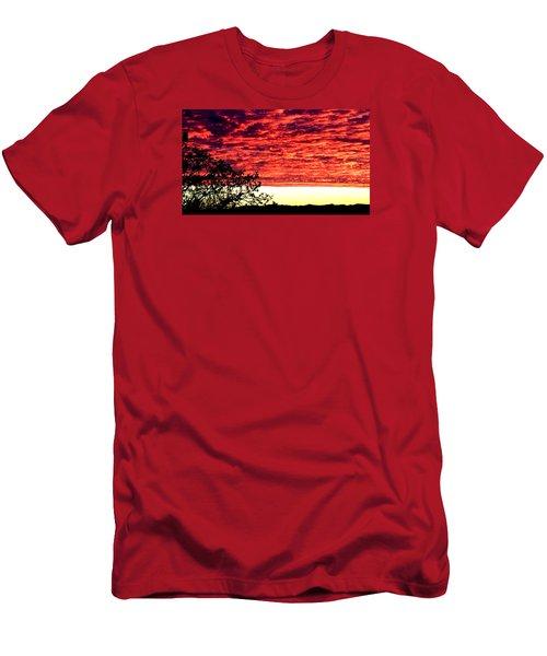 Pacific Coast Skies Men's T-Shirt (Athletic Fit)