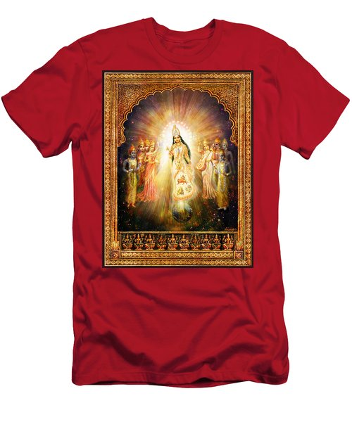 Parashakti Devi - The Great Goddess In Space Men's T-Shirt (Athletic Fit)