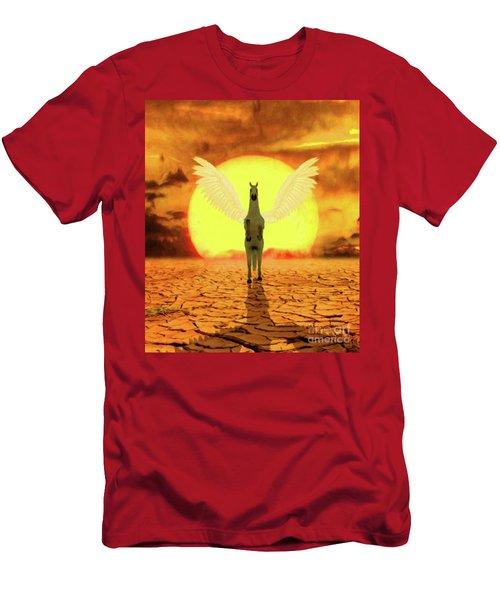 Pegasus By Mary Bassett Men's T-Shirt (Athletic Fit)