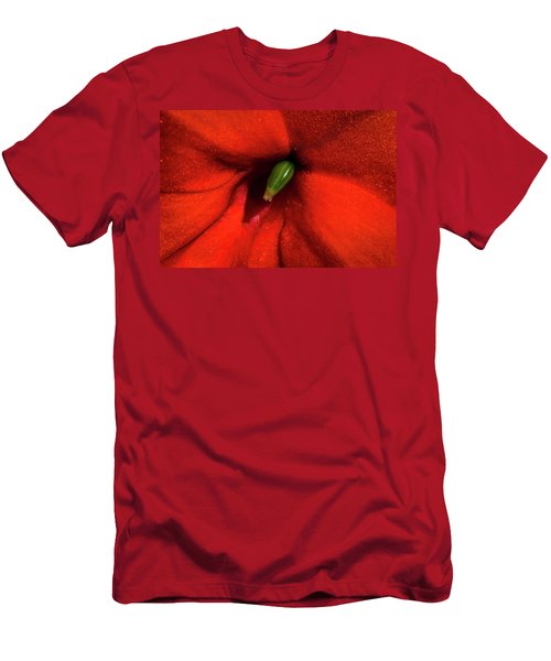 Men's T-Shirt (Slim Fit) featuring the photograph Red And Green by Jay Stockhaus