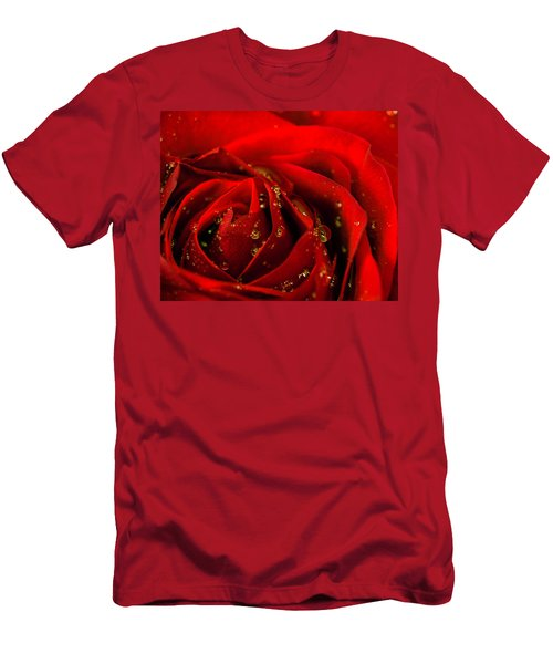 Red Rose 2 Men's T-Shirt (Athletic Fit)