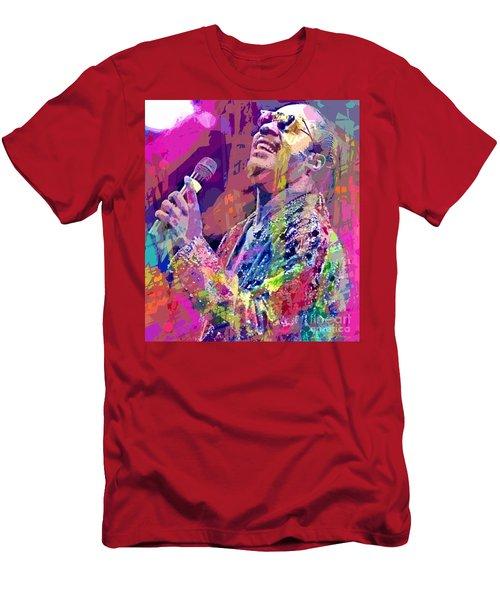 Stevie Wonder  Men's T-Shirt (Athletic Fit)