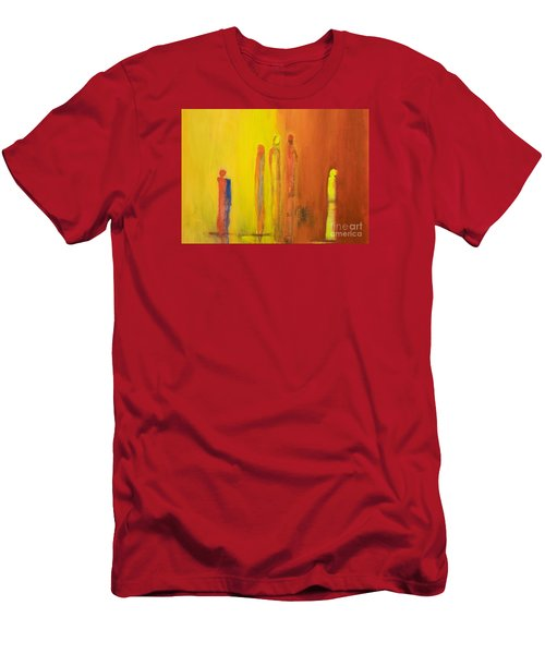 The Conversation Men's T-Shirt (Slim Fit) by Gallery Messina