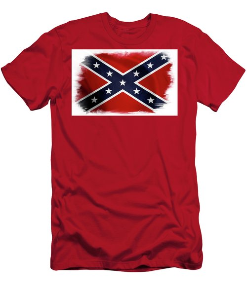 Confederate Flag 10 Men's T-Shirt (Athletic Fit)