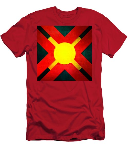100b Men's T-Shirt (Slim Fit) by Timothy Bulone