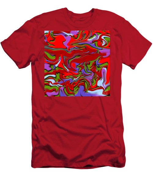 1695 Abstract Thought Men's T-Shirt (Athletic Fit)