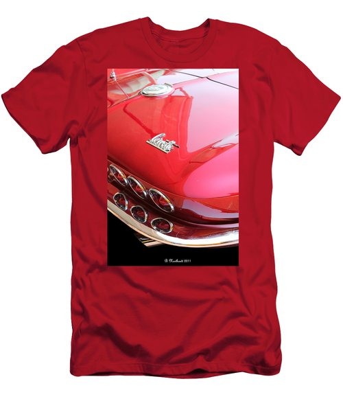 1966 Corvette Stingray Men's T-Shirt (Athletic Fit)