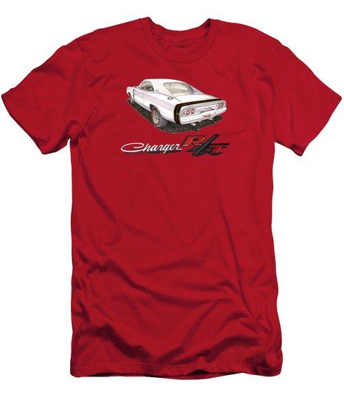 1968 Dodge Charger Tee Shirt Men's T-Shirt (Slim Fit) by Jack Pumphrey