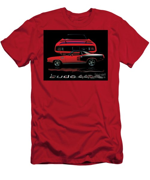 1971 Plymouth Cuda 440 Six Pack    Men's T-Shirt (Athletic Fit)