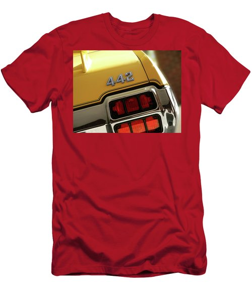 1972 Oldsmobile Cutlass 4-4-2 Men's T-Shirt (Athletic Fit)