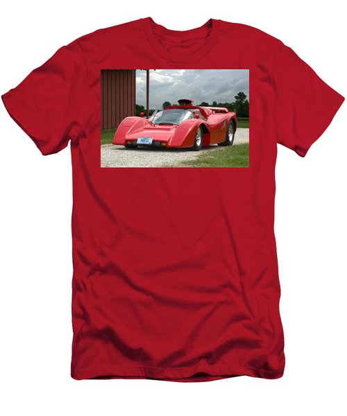 1974 Manta Mirage With Buick 215 Cubic Inch V8 Men's T-Shirt (Slim Fit) by Tim McCullough