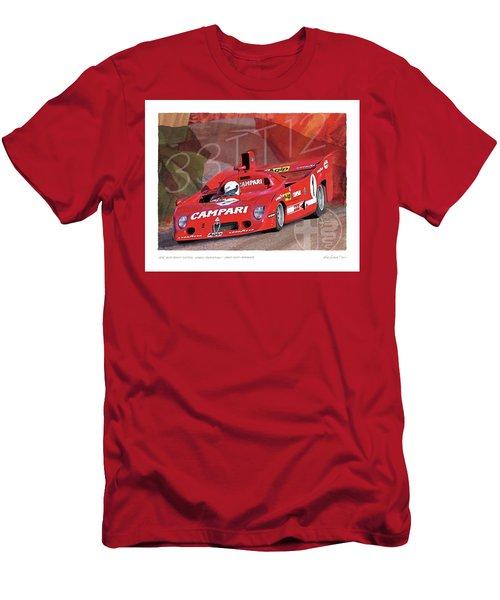 1975 Alfa Romeo 33-tt-12 Men's T-Shirt (Athletic Fit)