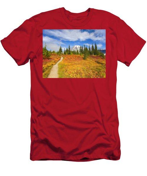 Autumn Trail Men's T-Shirt (Athletic Fit)