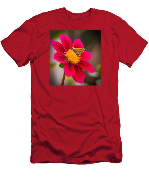 Butterfly Men's T-Shirt (Slim Fit) by Jerry Cahill