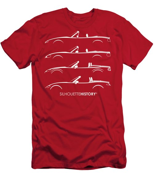 Japanese Roadster Silhouettehistory Men's T-Shirt (Athletic Fit)