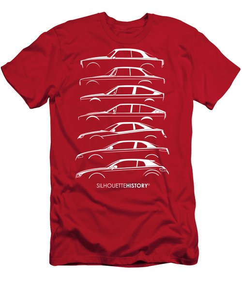Lombard Coupe Silhouettehistory Men's T-Shirt (Athletic Fit)