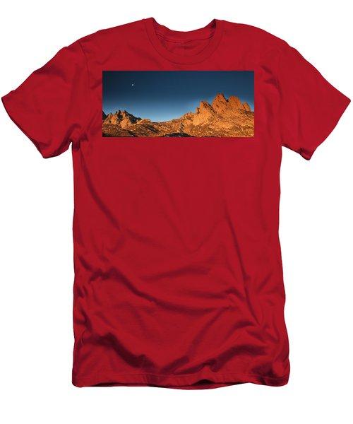 Organ Mountans At Sunrise-2 Men's T-Shirt (Athletic Fit)